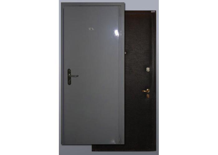 стальная дверь эконом 3